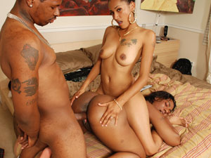 Girls ebony getting fucked black face